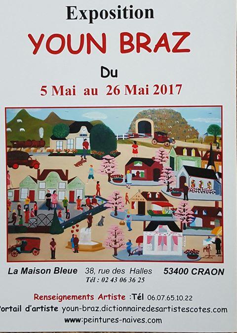 La Maison Bleue - Mai 2017 - Craon (53 400)