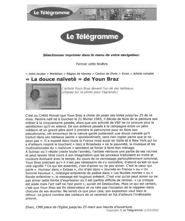 Telegramme 2002