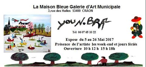 Mai 2017 - Exposition à Craon (53400)